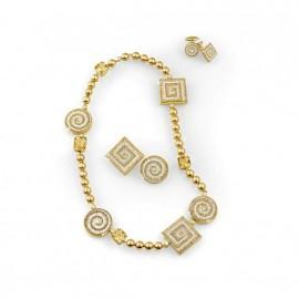 Labirinto necklace
