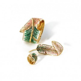 Piuma brooch